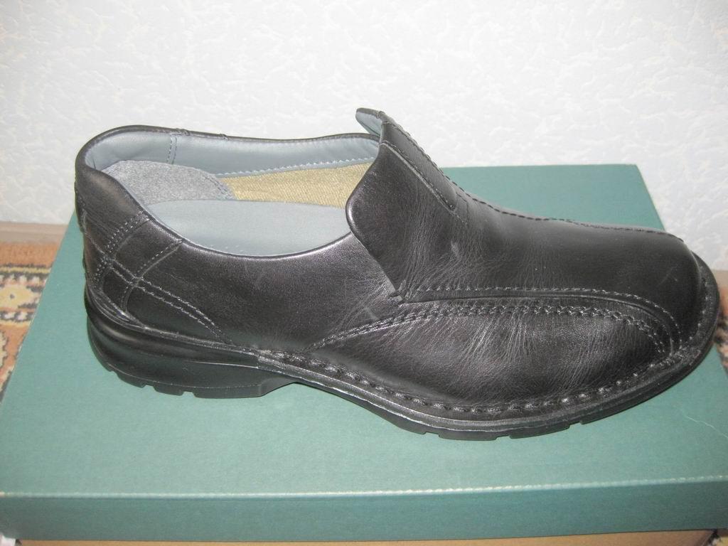 кожаные туфли Clarks Escalade размер 7US