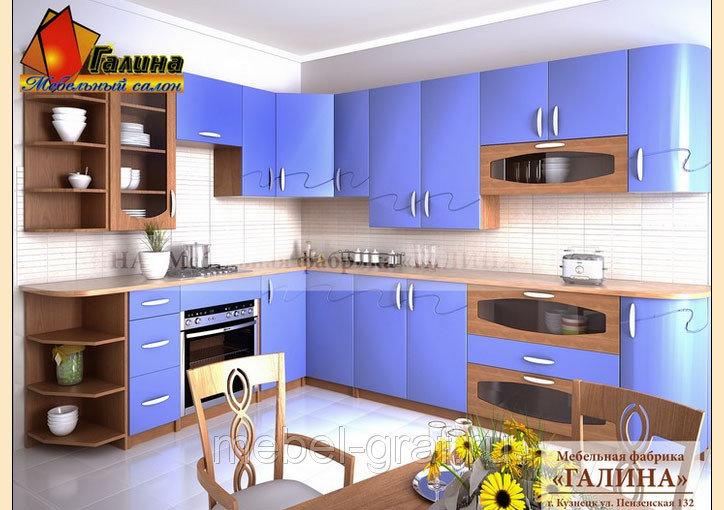 Купить угловую кухню на заказ от производителя в Москве