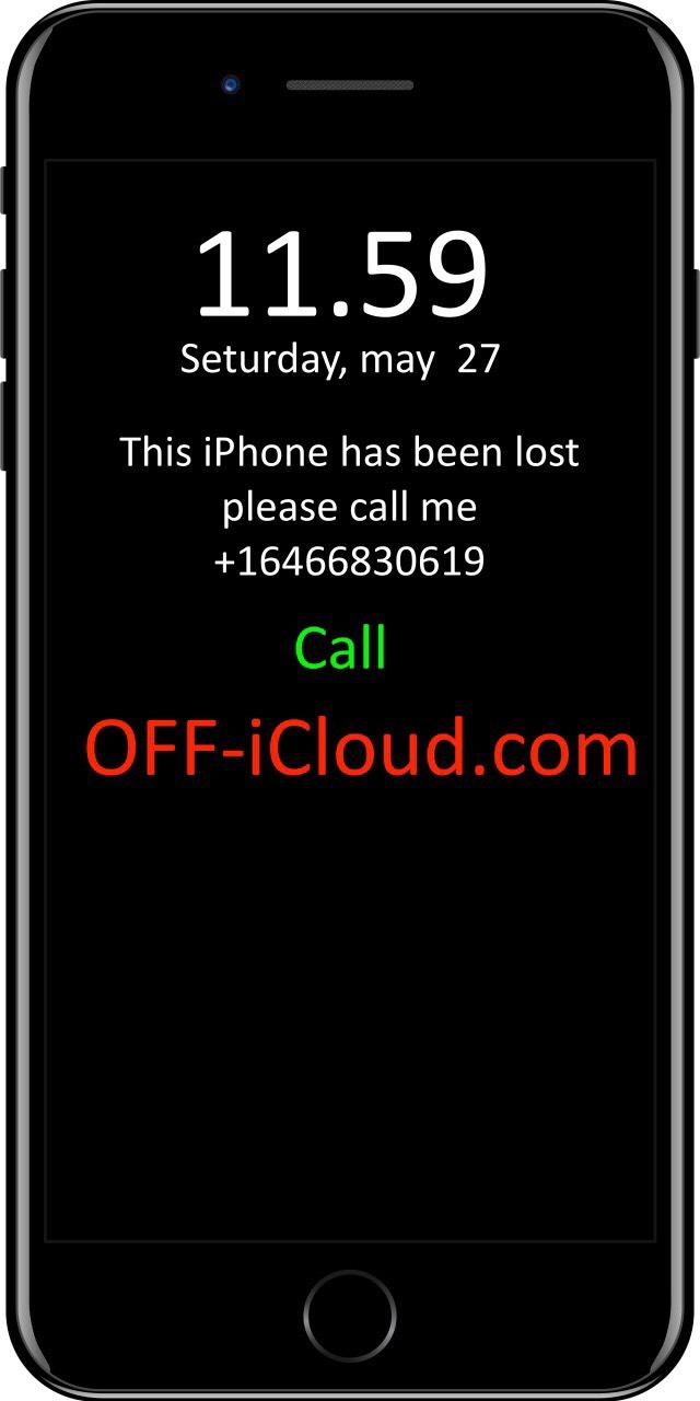Официальная разблокировка iCloud LOST
