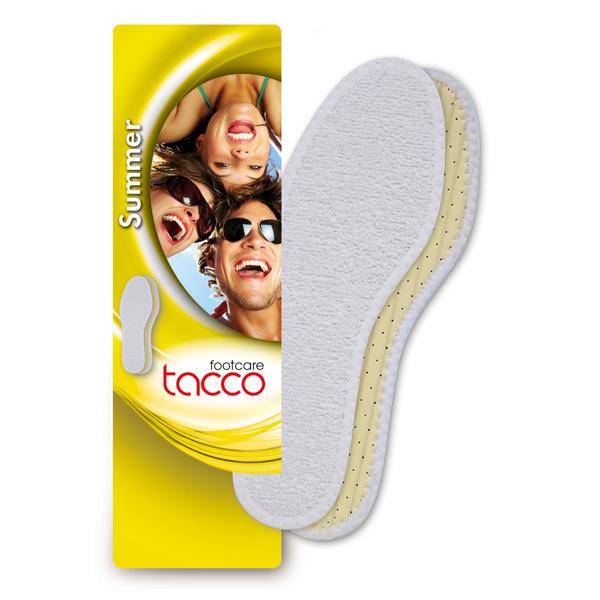 Tacco Summer Aрт.639- стельки летние оптом с ионами серебра для ношения на босую