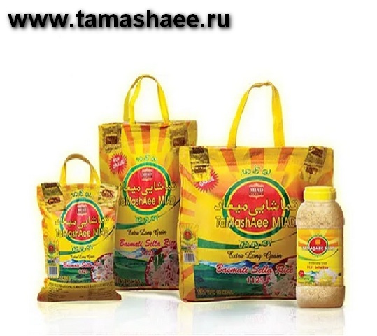 Реализация Miad Tamashee Basmati Rice, Басмати рис, длиннозерный