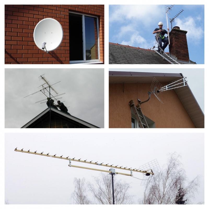 Установка и ремонт антенн