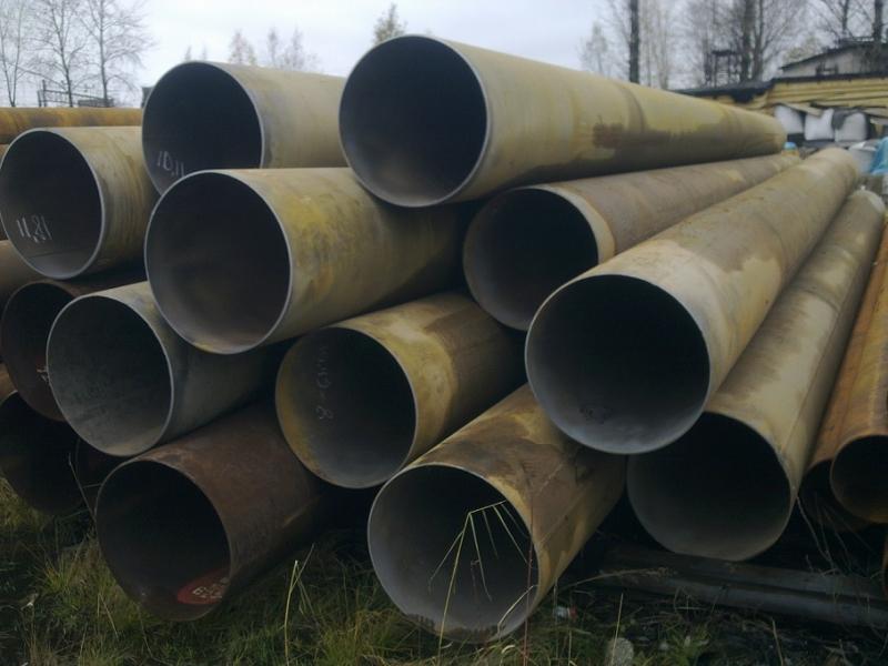 Продаем трубы бу 630мм со стенкой 7мм, 8мм в СПб.
