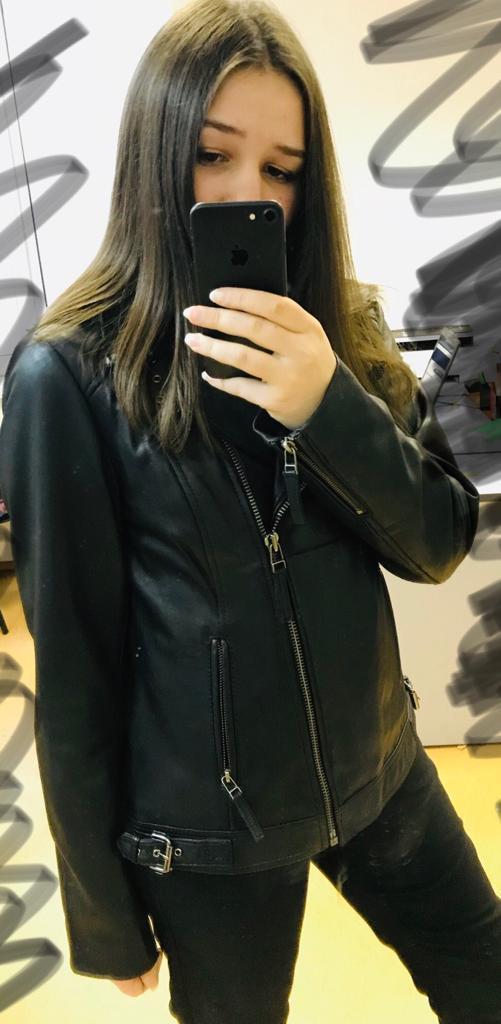 Куртки кожаные, 42-44